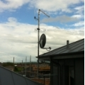 Same antennas from roof top in Shrewsbury